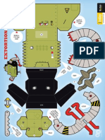 729 Robot Extortion Papertoy