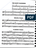 Sheet Music - Clarinet Polka