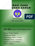 Operasi Pada Himpunan Samar. part 3.PPT