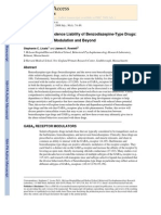 (2008) Abuse and Dependence Liability of Benzodiazepine-Type Drugs