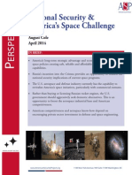 National Security and America's Space Challenge