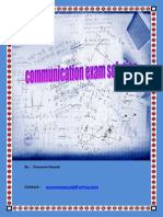 Communication Solution Exam
