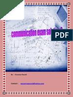 Communication Exam 3