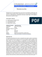 Peróxido de Zinc