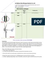 Wind Turbine and Car Inverter Catalogue