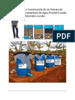 Portable Water System Handbook Spanish