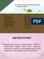 Metode Storet - (Nurul, Fajar, Rima, Aulia, Dhini, Diah, Antung, Sahla)