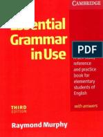 Cambridge - English Grammar in Use (Essential) (3rd Ed) (2007)