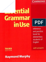 Cambridge - English Grammar in Use (Essential) (3rd Ed) (2007)