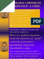 Desirable Corp. Gov. - A Code.