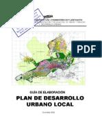 Manual Para La Elaboracion Del Plan de Desarrollo Urbano Local Pdul
