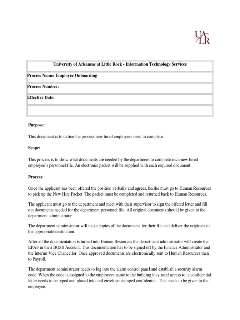 Employee Onboarding 1 Document Computer File