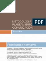 2012 Teorico 4 Metodología del planeamiento en comunicación