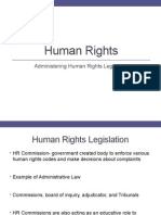 clu3m administering human rights legislation 2014