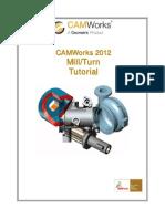 Camworks Tutorial Mill Turn