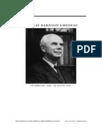 Murray Barnson Emeneau