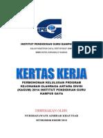 contoh format KERTAS KERJA.doc