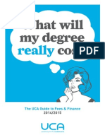 The UCA Guide to Fees and Finance 2014