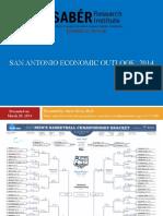 SABÉR Economic Forecast for San Antonio March 2014