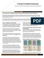 8 Threats To Portfolio Performance | A Series of Wealth Guide by Solid Rock Wealth Management