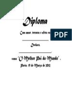 Diploma Dia Do Pai