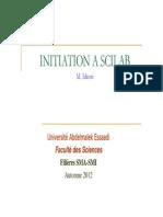 Initiation à Scilab