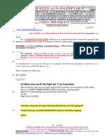 20140401-G. H .Schorel-Hlavka O.W.B. to Mr Tony Abbott PM- Re Expenditures Etc