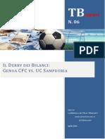 Il Derby Dei Bilanci - Genoa CFC vs UC Sampdoria