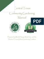 Community Gardening Manual