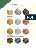 La Pubblisport - Coppe, Medalie e Targhe