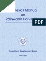 Rainwater Harvesting Manual