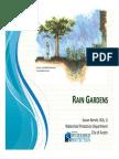 Rain Gardens Manual