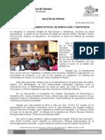 28/03/14  CONGRESO ESTATAL DE GINECOLOGÍA Y OBSTETRICIA