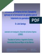 Mtodologia de Obtencion Del Extracto