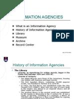 6. Lesson#4 Information Agencies