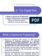 14. Electronic Publishing
