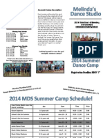 2014 MDS Summer Brochure Updated