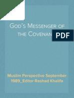 Muslim Perspective September 1989_Editor Rashad Khalifa