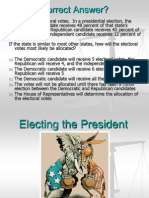 unit 5 - electing the president