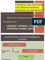Plan Nacional de Accion Ambiental
