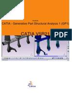 CATIA - Generative Part Structural Analysis 1 (GP1)