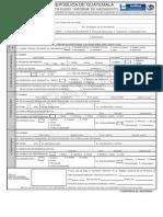 Certificado_Informe de Nacimiento