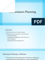 Performance Planning Presentation