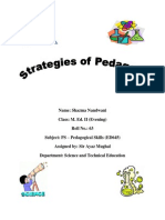 strategies of pedagogy