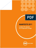PNP Manifesto 2011 Final