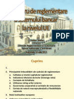 Noul cadru al sistemului bancar la nivel UE