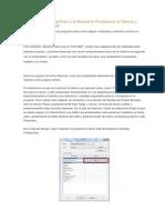 Asignación de Material Físico y de Material de Visualización en Tuberías y Ductos