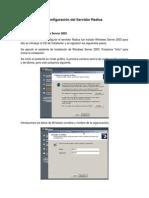 Configuracion del Servidor Radius.pdf