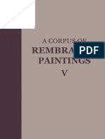 A Corpus Of Rembrandt Paintings V Small Scale History Paintings