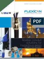 Catalog of Flexicon Flexible Conduit Solutions for Hazardous Areas